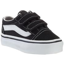 Vans Boys' Old Skool V - Black - 6.5 Toddler