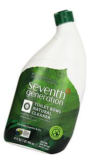 Seventh Generation Toilet Bowl Cleaner, Emerald Cypress & Fir Scent, 32-Ounces Bottle