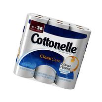 Cottonelle Toilet Paper Clean Care Double Rolls - 18 CT