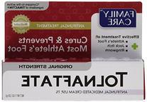 Family Care Tolnaftate Antifungal Cream 1% Compare to
