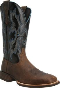 Ariat Men's Tombstone Western Cowboy Boot, Earth/Black, 10.5