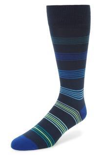 Men's Paul Smith Tonal Ladder Stripe Socks, Size One Size -