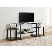 Mainstays No Tools 3-Cube Storage Entertainment Center for