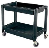 ATD Tools 7016 Heavy-Duty Plastic 2-Shelf Utility Cart