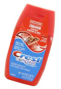 Crest Complete Whitening Plus Expressions Cinnamon Rush