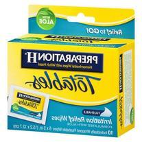 Preparation H Totables Hemorrhoidal Wipes - 10 ea