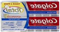 Colgate Total Advanced Whitening Paste Toothpaste, 5.8 oz,