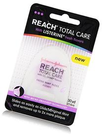 Reach Total Care floss with Listerine Fresh Flavors, 30 Yard