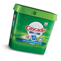 Cascade Total Clean Gel Dishwasher Detergent Pacs, Fresh