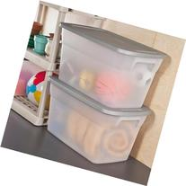 Sterilite 30 Gallon Tote Box- Steel