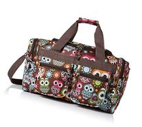Rockland 19 Inch Tote Bag, Owl, One Size