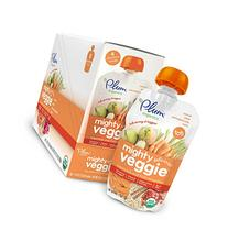 Plum Organics Tots Mighty Veggie Food, Carrot/Pear/