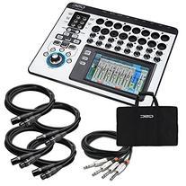 QSC TouchMix-16 Compact Digital Mixer CABLE KIT w/ XLR & 1/4