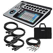 QSC TouchMix-8 Compact Digital Mixer CABLE KIT w/ XLR & 1/4