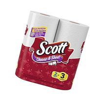 Scott Paper Towels Choose-A-Sheet, Mega Roll , 2 Count