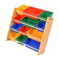 Giantex Toy Bin Organizer Kids Childrens Storage Box