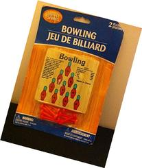 Toy travel bowling game