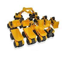 Toy State CAT Caterpillar Construction Toys Mini Machine set