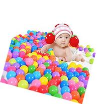 toyofmine 100pcs Colorful Ball Ocean Balls Soft Plastic