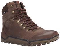 Vivobarefoot Men's Tracker Hiking Boot, Dark Brown, 40 EU/7.
