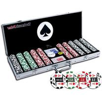 Trademark Poker 4 Aces 500 11.5G Poker Chip Set with