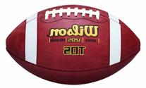 Wilson TDS High School Leather Game Football