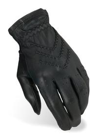 Heritage Traditional Show Gloves, Size 6, Black