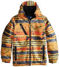 686 Boy's Trail Insulated Jacket, X-Large, Yellow Stripe