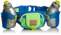 Nathan Trail Mix Bottle Belt, One Size, Gecko Green/Nathan