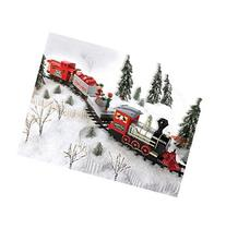 Blue Hat Toy Company® Train Set With Elves