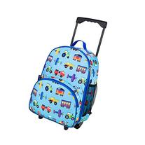 Olive Kids Trains, Planes and Trucks Rolling Luggage