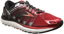 Brooks Men's Transcend 2 High Risk Red/Black/White Athletic