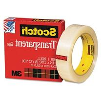 Scotch Transparent Tape, 1 x 2592 Inches, Boxed