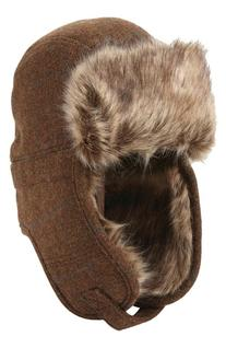 Men's Ben Sherman Trapper Hat with Faux Fur Lining, Size
