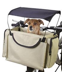 Traveler 2-in-1 Pet Bike Basket and Over the Shoulder