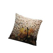 18x18 Inch Tree Flower throw Pillow Cover Decorative Cushion