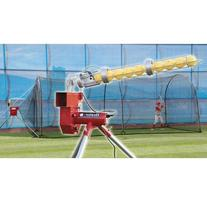 Heater Trend Sports Baseball Pitching Machine and Xtender 24