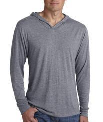 Next Level 6021 Tri-Blend Long Sleeve Hoody - Premium