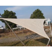 Outsunny Triangle Outdoor Patio Sun Shade Sail Canopy, 18-