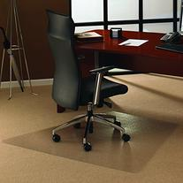 Floortex Ultimate Polycarbonate Chair Mat for Carpets to 1/2
