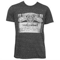 Budweiser Triblend Faded Tee Shirt