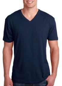 Next Level Mens Tri-Blend V-Neck Tee 6040 -VINTAGE NAVY XL