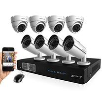 Amcrest ProHD 1080P 8CH Video Security System - Eight 2.1-