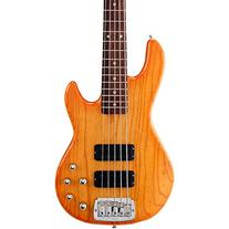 G&L Tribute M2500 5-String Electric Bass Honeyburst Rosewood