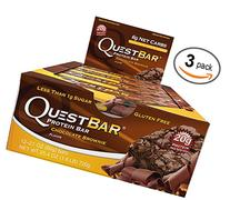 Quest Trio 12 Packs: Chocolate Brownie
