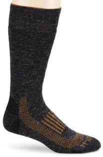 Carhartt Men's Triple Blend Thermal Boot Socks,  Charcoal,
