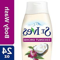 St. Ives Soft and Silky Body Wash, Coconut Milk and Orchid