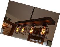 Triple Wood Light