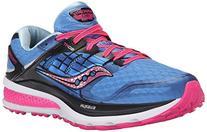 Saucony Women's Triumph ISO 2 Running Shoe, Blue/Pink, 5 M