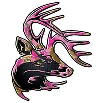 "Legendary Whitetails Truck Buck Decal Standard 5"" x 6"" God's"
